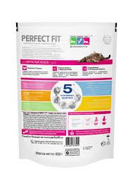 Сухой корм <b>Perfect Fit</b>® <b>Adult</b>™ для взрослых кошек с говядиной