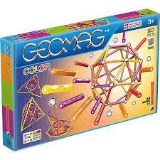 <b>Магнитный конструктор Geomag</b> Color, 127 деталей, купить по ...