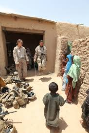 the semi normal day to day life of a female marine 1stlt justine roberts public affairs officer i marine expeditionary force shows the children how to use a jump rope 15 during a village medical