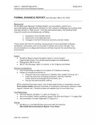 best photos of formal report sample writing analytical example via it