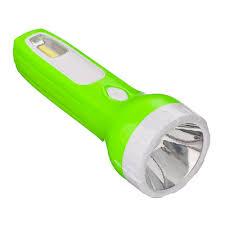 ЧИНГИСХАН <b>Фонарь аккумуляторный 0</b>,<b>5</b> Вт + COB LED, вилка ...