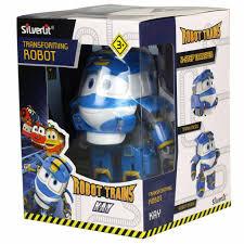 <b>Трансформер Silverlit Robot Trains</b> Кей 10 см (80164) цены в ...