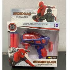 Spider-Man Far From Home <b>Soft Bullet</b> Blaster Gun with <b>Soft Bullet</b> 6 ...