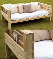 for maggie great southern wood preserving yellawood daybed build it building frame day bed
