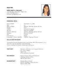 resume template curriculum vitae english simple pertaining to  79 breathtaking basic resume template word