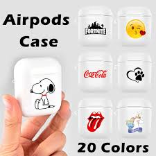 20 Colors <b>Fashion Case for AirPods</b> Portable Dustproof Earphones ...