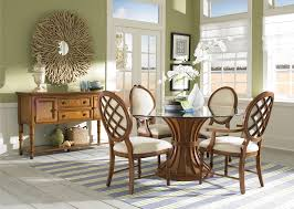 Glass Dining Room Tables Round Table Modern Round Glass Dining Room Table Mediterranean Medium