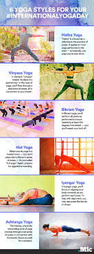 all types of yoga from bikram to vinyasa to iyengar explained in all types of yoga from bikram to vinyasa to iyengar explained in one chart