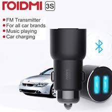 Xiaomi <b>ROIDMI 3S Bluetooth 5V</b> 3.4A Car Charger Music Player FM ...