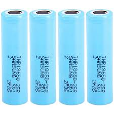 INR18650-25R Azure 4PCS Batteries - Railway Sale, Price ...