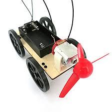 Buy Generic <b>Mini Wind Powered Toy</b> DIY Car Kit Children ...