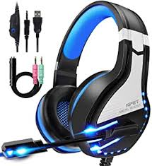 NPET HS10 Stereo Gaming Headset for PS4, PC ... - Amazon.com