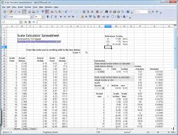re scaling kits calculating scale dimensions model railway scenery toms scale calculator spreadsheet