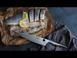 Обзор <b>кухонных</b> ножей <b>Samura Reptile</b> - YouTube