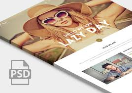 little neko premium website templates web design html5 and css3 bie one page website psd design lazy day