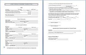 minor medical treatment consent form permission letter for medical treatment