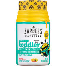<b>Toddler Multivitamins</b> - NATURAL FRUIT FLAVORS (<b>110</b> Gummies ...