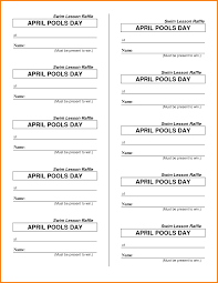raffle ticket template receipt templates raffle ticket template