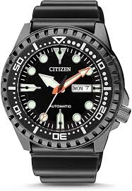 Citizen <b>Mens</b> Analogue Automatic Watch with Rubber Strap <b>NH8385</b> ...