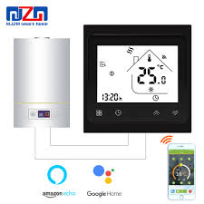 MJZM BGL 002 <b>WiFi Thermostat</b> Temperature Controller LCD Touch ...