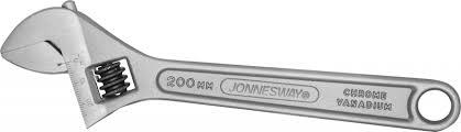 <b>Ключ разводной</b>, 0-24 мм, L-200 мм <b>JONNESWAY</b> W27AS8