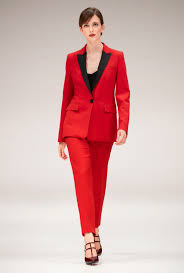 ivanka trump wears red pantsuit for bill signing ceremony daily smarten up your work wear a red suit like ivanka s