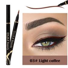 Brand DNM 12 color eyeliner matte waterproof durable color ...