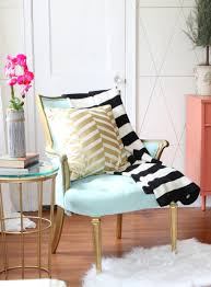 painted jewel tone living room makeover with jewel tones black amp white and gold accents