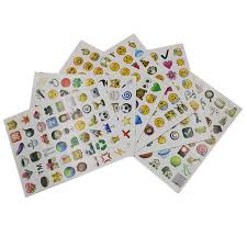 Detail Feedback Questions about 6 <b>Sheets 48</b> Stickers 288 1.7Cm ...