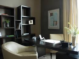 captivating home office with dark desk and book shelvealso charming chair captivating home office desk