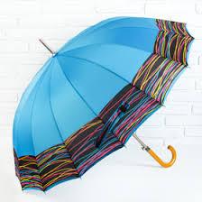 <b>Зонт</b> полуавтоматический «Электро», 16 спиц, R = 56 см, цвет ...