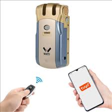 WAFU <b>Smart</b> Invisible <b>WIFI</b> Remote Control Security Door Lock (<b>WF</b> ...
