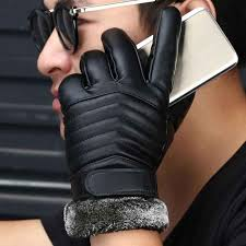 New <b>Designer</b> Mens Gloves <b>High Quality</b> Genuine <b>Leather</b> ...