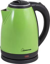 Купить электрический <b>чайник HomeStar HS</b>-<b>1010</b>, Металл ...