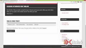 create a classified website using wordpress part