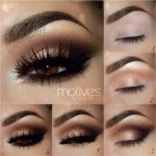 brown eyes makeup kardashian smokey dark auroramakeup motives