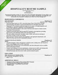hospitality resume sample  amp  writing guide   resume geniushospitality front desk resume sample
