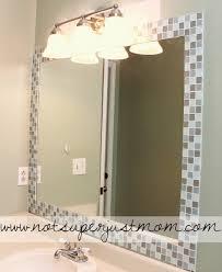 bathroom vanity mirror ideas modest classy: modest ideas mosaic bathroom mirror pleasing images about mosaic tile mirror frame on pinterest mirror