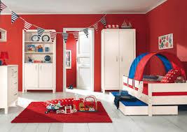 girls room playful bedroom furniture kids: modern childrens beds sliding guest bed design for kids modern childrens bedroom furniture for two red blue kids room