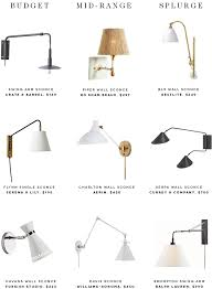 9 bedside sconces to brighten up your nighttime reading on savvyhome bedside sconce lighting