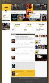 fantastic redesign concepts for imdb imdb redesign concept by gerben geeraerts