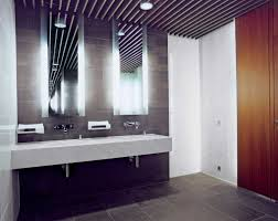 awesome bathroom vanity lights with floating sink and double mirror plus white wall tile awesome bathroom lighting bathroom pendant lighting vanity