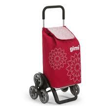 <b>Хозяйственная</b> сумка-тележка <b>GIMI</b> TRIS Optical (оранжевый ...