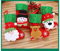 Deer <b>Christmas Decoration Santa Claus</b> Snowman Stocks Stocking ...
