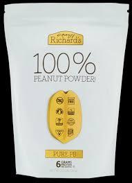2 lb <b>Pure Peanut Powder</b> Bag | Crazy Richard's