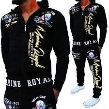 2019 <b>Zogaa Brand Men</b> Set <b>Track</b> Suit <b>Mens</b> Hooded Sweatshirts ...