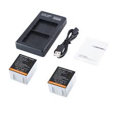 <b>fast charging</b> battery charger +<b>2pcs</b> battery for Arlo uitra camera ...
