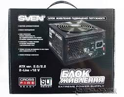 Обзор <b>блока питания SVEN</b> SV-600W / Overclockers.ua