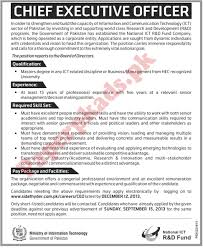 chief executive officer jobs in paperpk chief executive officer jobs in