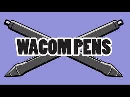 <b>Wacom Pens</b> (Pro <b>Pen</b>, <b>Art</b> Pen, Airbrush, Grip Pen & more) - YouTube